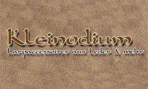 Kleinodium - Heilertaschen & Lederscheiden
